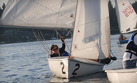 Sail Sand Point: 5-Use Open-Boating Punch Card - Sail Sand Point in Seattle