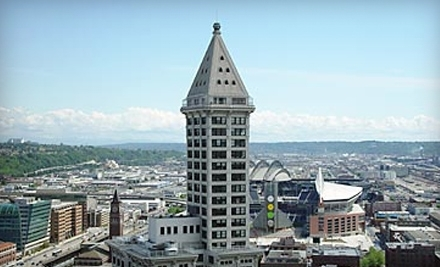 Smith Tower Observation Deck - Smith Tower Observation Deck in Seattle