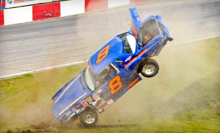 Raceway Park: Good for 2 Tickets and a Bucket of Popcorn - Raceway Park in Shakopee