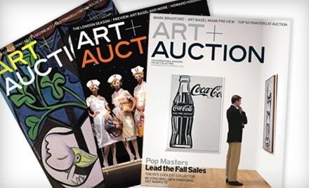 Art + Auction - Art + Auction in