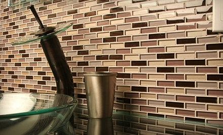 $100 Groupon to Glass Tile Oasis - Glass Tile Oasis in