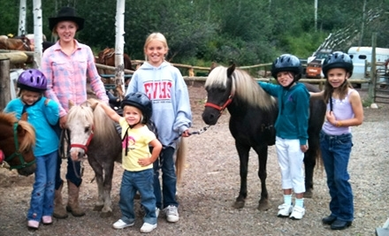 Vail Stables: One Admission to a Kids' Half-Day Pony Camp - Vail Stables in Vail