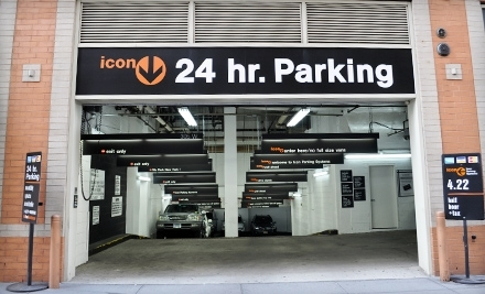 Icon Parking: HJ Parking at 851 8th Ave. - Icon Parking in