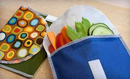$30 Groupon for Reusable Snack and Sandwich Bags at ReUsies - ReUsies in