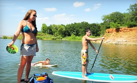 DFW Surf: 3.5-Hour Group Wake-Surf Lesson for up to 6 - DFW Surf in Grapevine