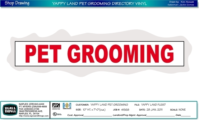 Yappy land a doggy day spa for A touch of class pet salon
