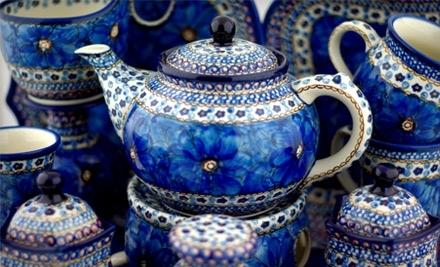 $40 Groupon to Polmedia Polish Pottery - Polmedia Polish Pottery in