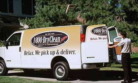 $50 Groupon to 1-800-DryClean - 1-800-DryClean in