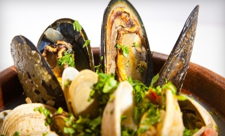 $25 Groupon to Rusty's Seafood and Oyster Bar - Rusty's Seafood and Oyster Bar in Cape Canaveral