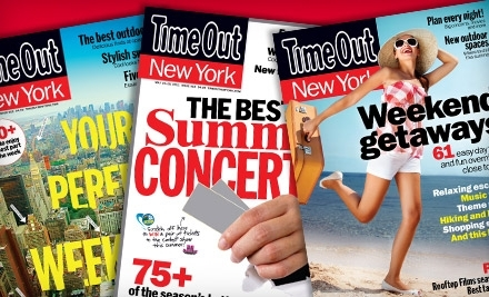 Time Out New York Magazine  - Time Out New York Magazine  in