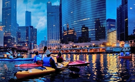 Chicago River Canoe & Kayak: Skyscraper Canyon Trip for One Person in a Single Kayak - Chicago River Canoe & Kayak in Chicago