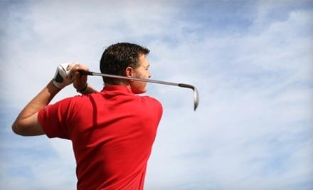 Golf Lesson Advantage Card - Golf Lesson Advantage Card in