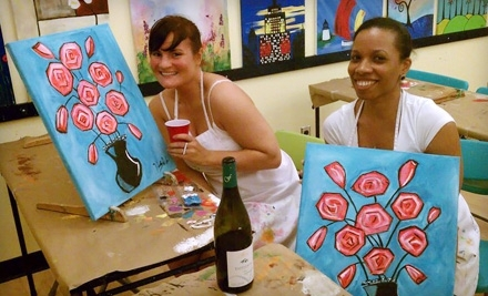 Paint Along: 2-Hour Daytime BYOB Painting Workshop - Paint Along in New York