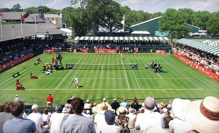 Campbell's Hall of Fame Tennis Championships on Mon., July 4 at 11AM - Campbells Hall of Fame Tennis Championships in Newport