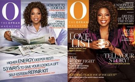 O, The Oprah Magazine -