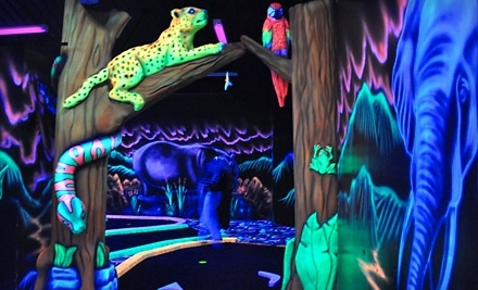 Jungle Wonder: One Game of Mini Golf for Four People - Jungle Wonder in Limerick