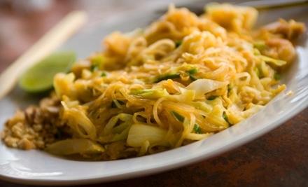 Sophia's Thai Kitchen: $12 Groupon for Lunch - Sophia's Thai Kitchen in Davis