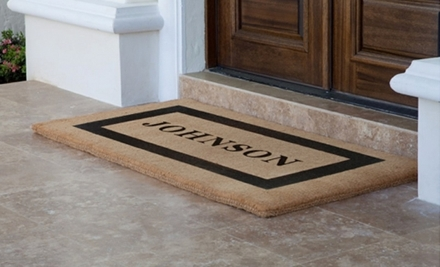 $50 Groupon to The Personalized Doormats Company - The Personalized Doormats Company in