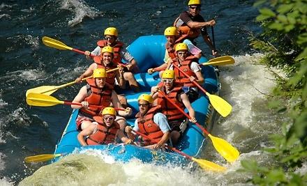 Whitewater Challengers - Whitewater Challengers in North River