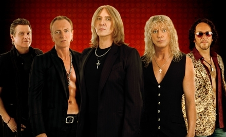 Live Nation: Def Leppard at the Comcast Center on Thur., June 30 at 7:30PM: Rear Half of Seating Section 4, 5, 7, or 8 ($104 Value) - Def Leppard at the Comcast Center in Mansfield