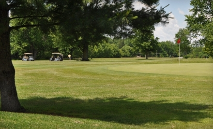 Hawk's Tail of Greenfield: 18 Holes of Golf for 2 with a Cart Mon - Fri - Hawk's Tail of Greenfield in Greenfield