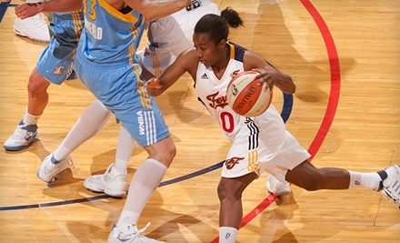 Ticketmaster: Indiana Fever vs. Washington Mystics at Conseco Fieldhouse on Sat., July 9 at 7PM: Section Lower-Level Seating ($16 Value) - Indiana Fever at Conseco Fieldhouse in Indianapolis