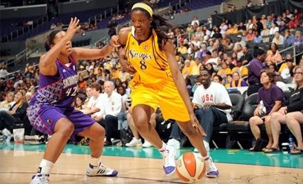 Los Angeles Sparks vs.Washington Mystics on Sun., July 17 at 5:30PM: Lower-Level-Center-Court Ticket - Los Angeles Sparks in Los Angeles
