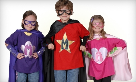 $30 Groupon to Powercapes and Costume Tutus - PowerCapes, Costume Tutus, and Hero Huggers in