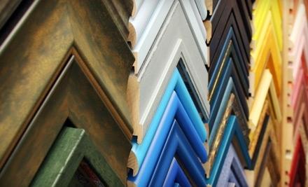 $100 Groupon to Art of Framing - Art of Framing in San Diego