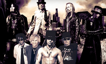 Live Nation: Motley Crue, Poison, and New York Dolls at the PNC Bank Arts Center on Sun., July 17 at 7PM: General-Admission Lawn Seating - Motley Crue, Poison, and New York Dolls at the PNC Bank Arts Center in Holmdel