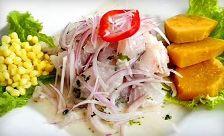 El Gran Inka: $40 Groupon for Cuisine and Drinks - El Gran Inka in North Miami
