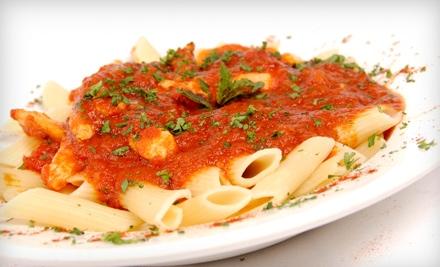 $20 Groupon to Scorpio's Italian Eatery & Pizzeria - Scorpio's Italian Eatery & Pizzeria in Attleboro
