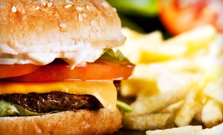 MoMak's: $10 Groupon - MoMak's Backyard Malts & Burgers in San Antonio