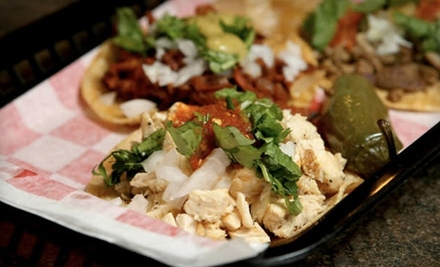 The Taco Spot: $15 Worth of Authentic Mexican Street Fare - The Taco Spot in Arlington