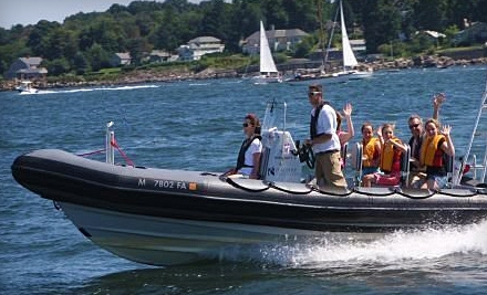 RIB Adventure Tours: High-Speed Boat Tour of the Boston Harbor  - RIB Adventure Tours in Boston