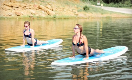 Float On Yoga: Two 1.5-Hour On-Shore Group Yoga Classes - Float On Yoga in Grapevine