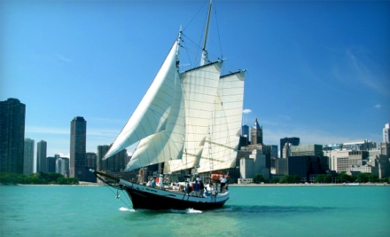 Red Witch Tall Ship: 75-Minute Thursday Afternoon Sail - Red Witch Tall Ship in Chicago