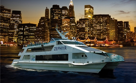 Circle Line Downtown: Zephyr Happy Hour on the Harbor Cruise on Thurs., Aug. 4 at 6:30PM - Circle Line Downtown in Manhattan