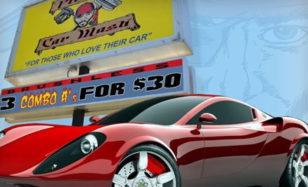 Pirates Car Wash: 3 Combo A Car Washes - Pirates Car Wash in Glenn Dale