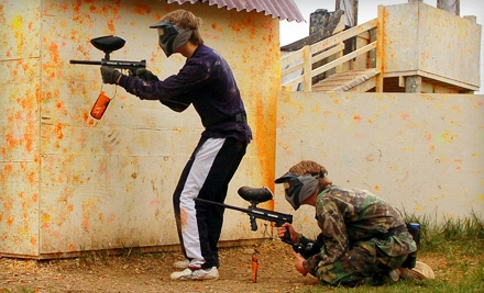 Pev's Paintball Park: All-Day Pass, Rentals, and Paint for Two - Pev's Paintball Park in Aldie