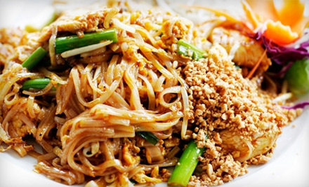 Thai Rock: Lunch for Two on Mon.-Thurs. from 12:00PM-3:00PM - Thai Rock in Rockaway Beach