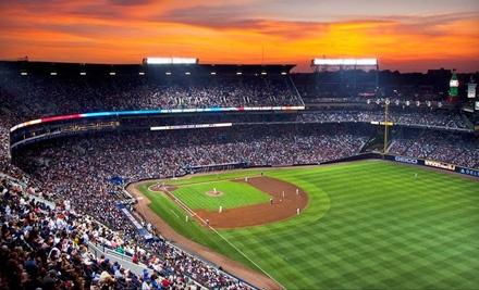 Ticket Master: Atlanta Braves: Outside-Pavilion or Terrace-Level Ticket - Atlanta Braves in Atlanta