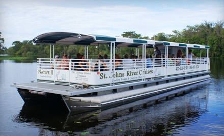 groupon deal still available save 96% off at st johns river st johns river cruises 440x267