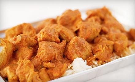$30 Groupon to Swagath Indian Restaurant - Swagath Indian Restaurant in Ashburn