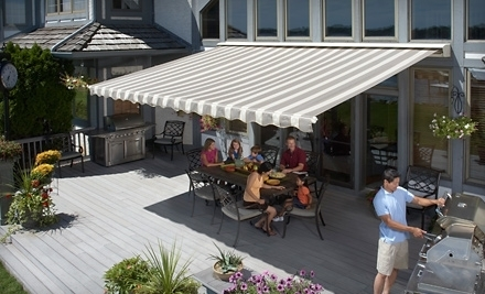 $600 Groupon to Sunsetter Awning - SunSetter Awning in