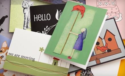 $20 Groupon to Greeting Card Universe - Greeting Card Universe in