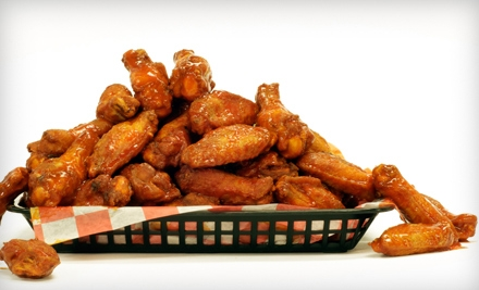 Wild Over Wings: 20 Wings, 2 Regular Sides, and 2 Regular Soft Drinks - Wild Over Wings in Garland