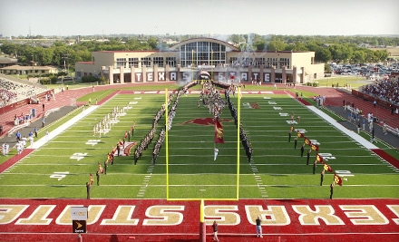 Texas State University Bobcats vs. Tarleton State on Sat., Sept. 17 at 6PM: Sections BB & DD - Texas State University Bobcats in San Marcos