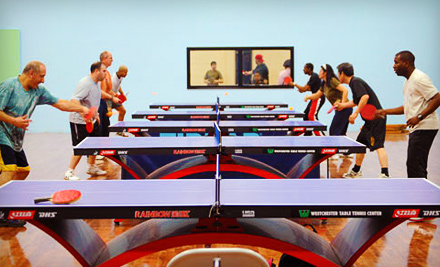 Westchester Table Tennis Center Pleasantville Ny Groupon
