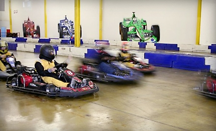 Melrose Park Indoor Grand Prix: 4 Rides, Annual License and Disposable Headsock  - Melrose Park Indoor Grand Prix in Melrose Park